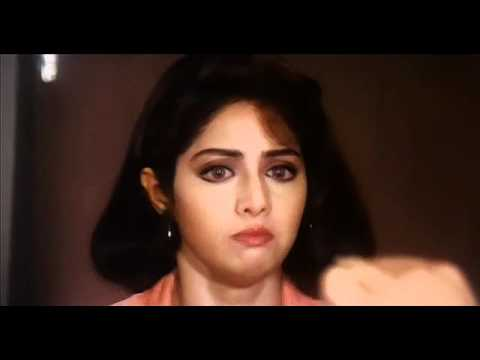 Sridevi getting scared with drugs in Gumrah (1993) HD