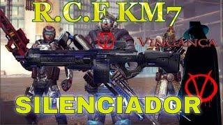 Mc5   Classe Apoio Arma R.C.F Com o último Silenciador Divisão 9 ▭▭...