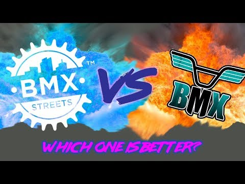 BMX STREETS VS BMX THE GAME! WHO WILL WIN?