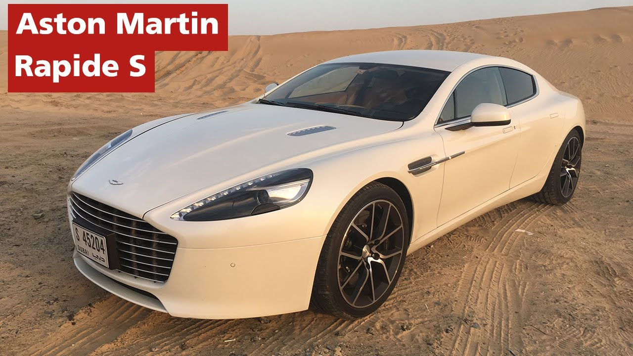 Aston Martin Rapide S Test Drive Youtube