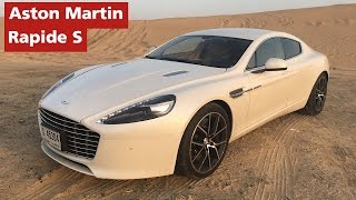 Aston Martin Rapide S Test Drive