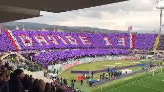 Tribute to Davide Astori at 13th minute of Fiorentina vs Benevento (11.03.2018)
