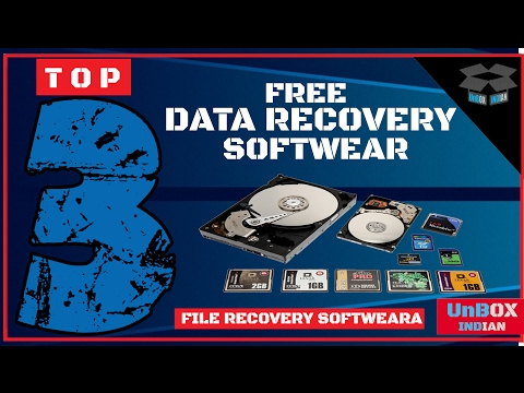 Top 3 Best Free Data Recovery Software For Windows/SD Cards/USB/External Hard Drive 2017