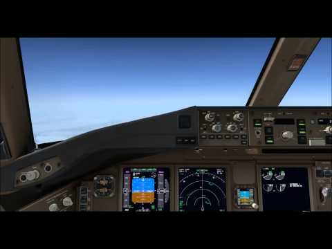 Korean air 112 PGUM(Guam)-RKSI on vatsim,fsx,pmdg 777