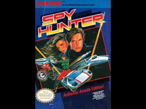 Spy Hunter NES with 3dSen |