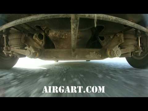 Передняя пневмоподвеска на Волге ГАЗ-24-01,