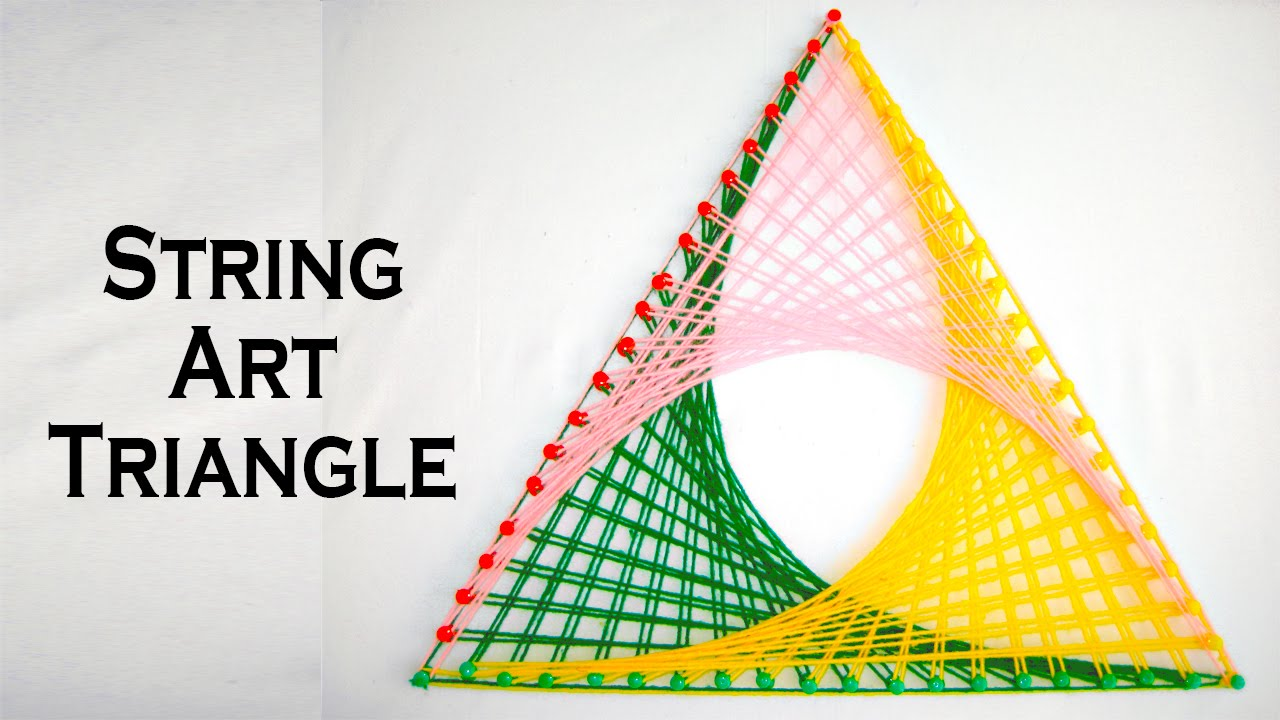 Declarative image for printable string art patterns