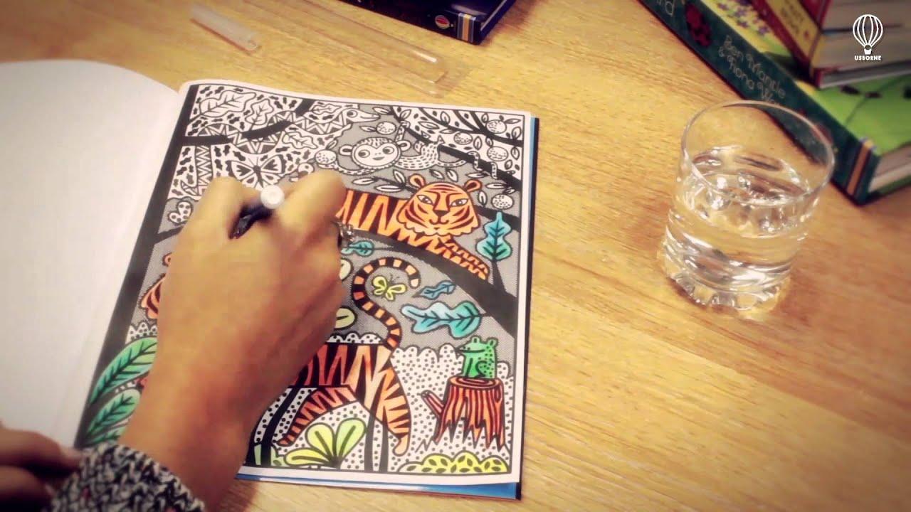 Colorea por arte de magia - YouTube