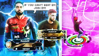 LEGEND MIDGET 5'7 SHARPSHOOTER EXPOSES RONNIE2K and then CARRIES him to a BIG WIN-STREAK ON NBA2K20!