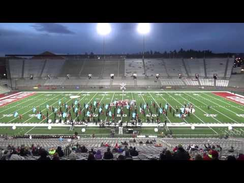 2015 Mt. Spokane High School Marching Band: WSU Marching Band Championships Finals
