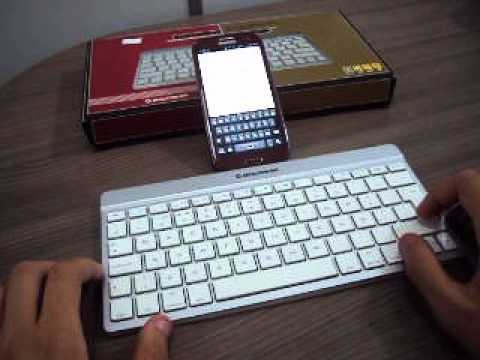 Teclado bluetooth da leadership para celular iphone ipad e for Moviles modernos