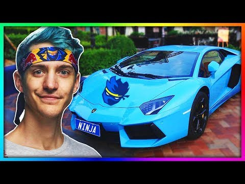 Top 6 MOST EXPENSIVE Fortnite Youtuber Cars! (Ninja, Ali-A)