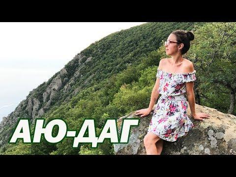 АЮ-ДАГ в Крыму - Медведь-гора Партенит - Достопримечательности Крыма