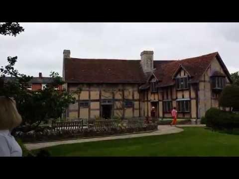 Jack and Birgie, William Shakespeare home