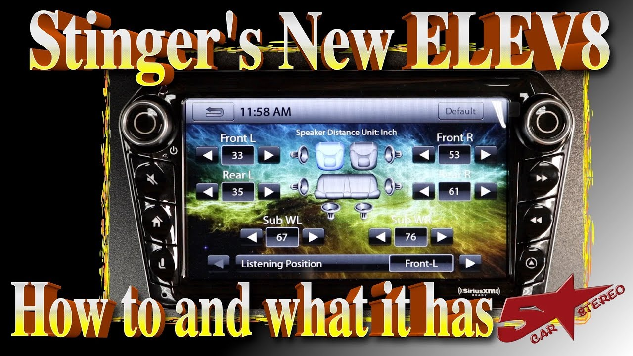 Stingers new Elev8 Multi Media 8