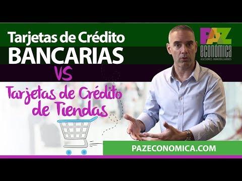 Tarjetas De Crédito Bancarias Vs. Tarjetas De Tiendas