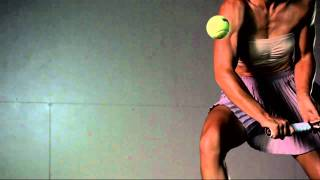 Slow motion video of Samantha Stosur for The New York Times Magazine shot by Dewey Nicks