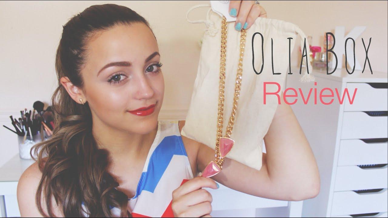 Olia Box Review YouTube