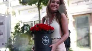 видео Цветы в шляпных коробках