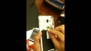 Samsung j7 how to put sim and memory card