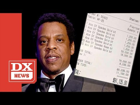 JAY-Z Drops A Mortgage On Ace Of Spades Bottle Service