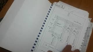 Строительные чертежи, силовое электрооборудование