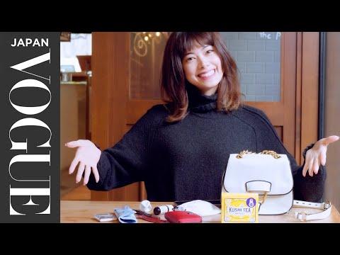 森星のバッグの中身は? バッグから溢れ出すお気に入りアイテムを一挙公開。 In The Bag