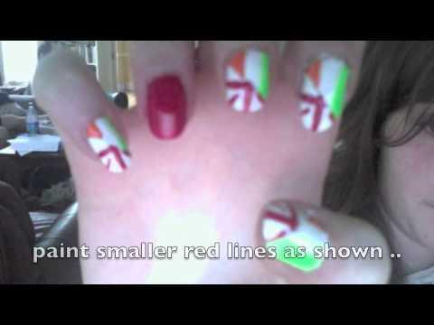 one direction british/irish nails