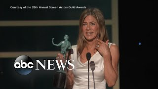 A-list moments from 26th annual SAG Awards