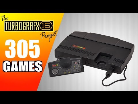 The TurboGrafx-16 / PC Engine / SuperGrafx Project - All 305 Games - Every Game (US/JP)