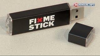 FixMeStick USB virus en malware killer review - Hardware.Info TV (Dutch)