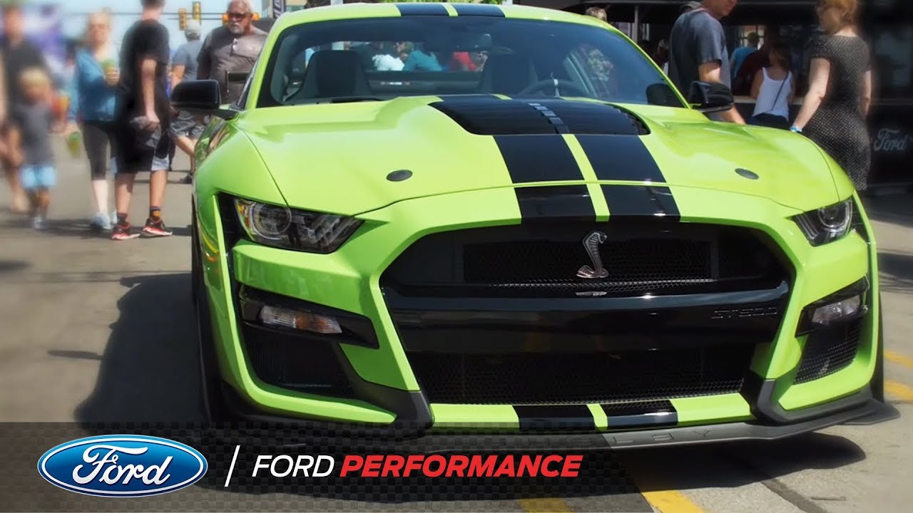 Woodward Cruise 2020.2019 Woodward Dream Cruise 2020 Ford Shelby Mustang Gt500 Ford Performance