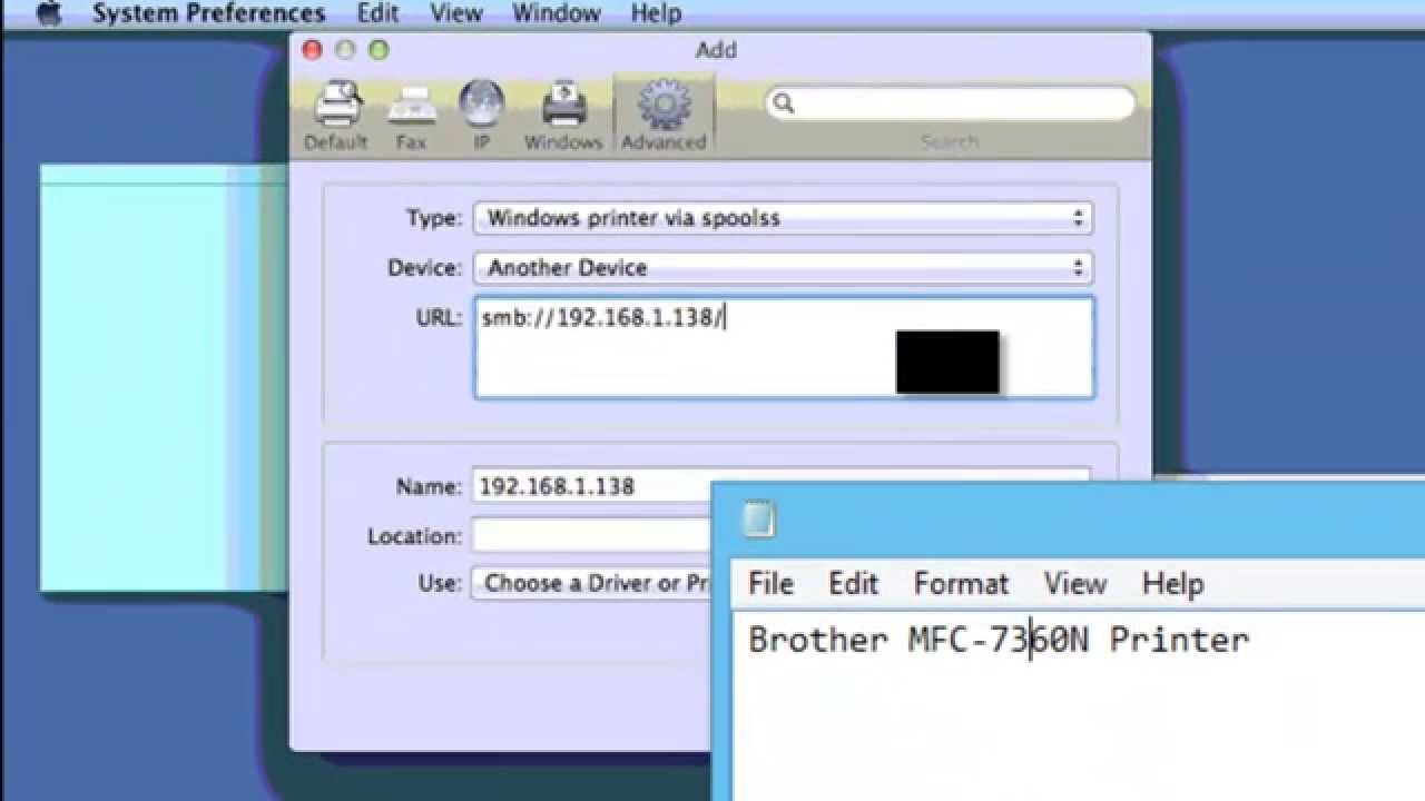 Connect Your Mac To A Printer Shared By Windows Computer