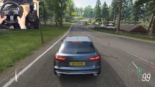 ✅ 612 BHP AUDI RS6 Avant | Forza Horizon 4 | Logitech g27 gameplay | Wheelcam