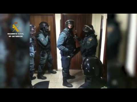 La Guardia Civil desarticula una organización criminal dedicada a introducir cocaína en Tenerife