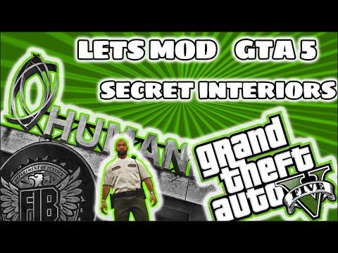 Lets Mod GTA 5 - Secret Interiors ARE EPIC!!