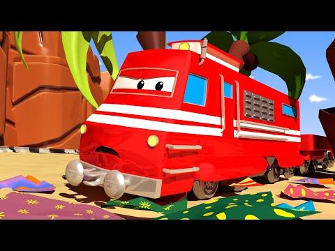 Troy o Trem - Dia de Páscoa: o trem da reciclagem - Cidade do Trem 🚄 Desenhos animados