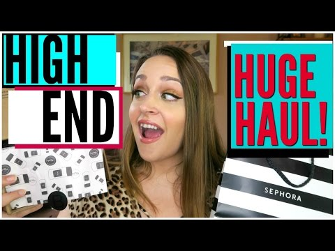 HIGH END MAKEUP HAUL: WAYNE GOSS BRUSHES BEAUTYLISH SEPHORA MAC ARMANI | DreaCN