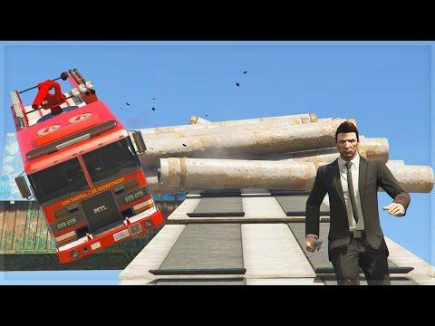 DEATHRUN ON GTA!!