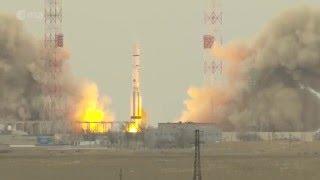 ExoMars-2016 liftoff / Запуск ЭкзоМарса-2016 [4K]