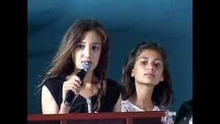 Öğretmene şiir İGMO (Osmaniye) Mezuniyet Gecesi 2013