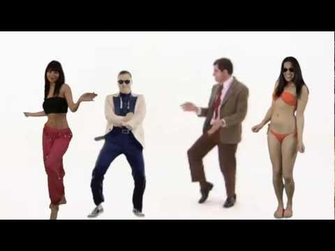 Mr Bean Dance Harlem Shake