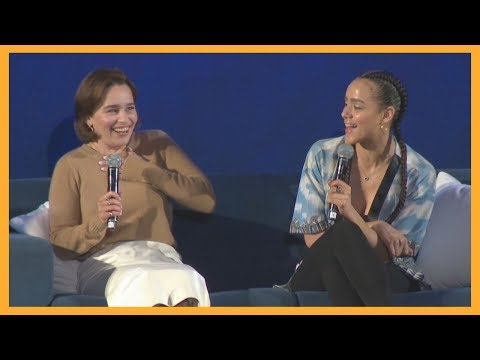Emilia Clarke talks about her love for Beyonce at Comicpalooza
