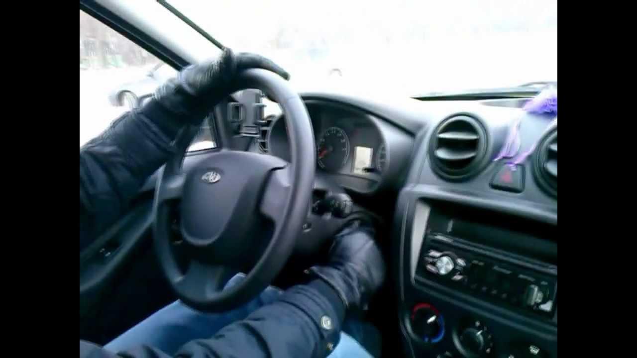 столкнулись BMW X5 и LADA Granta