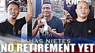 NIETES CAMP SAYS THEY ARE READY FOR PALICTE AND DONT SEE RETIREMENT AFTER THE FIGHT