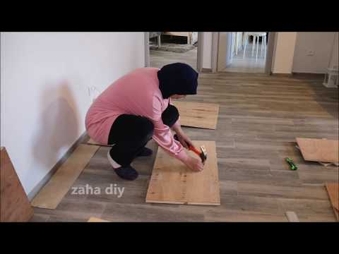 how to recycle pieces of wood you have at home/zaha diy