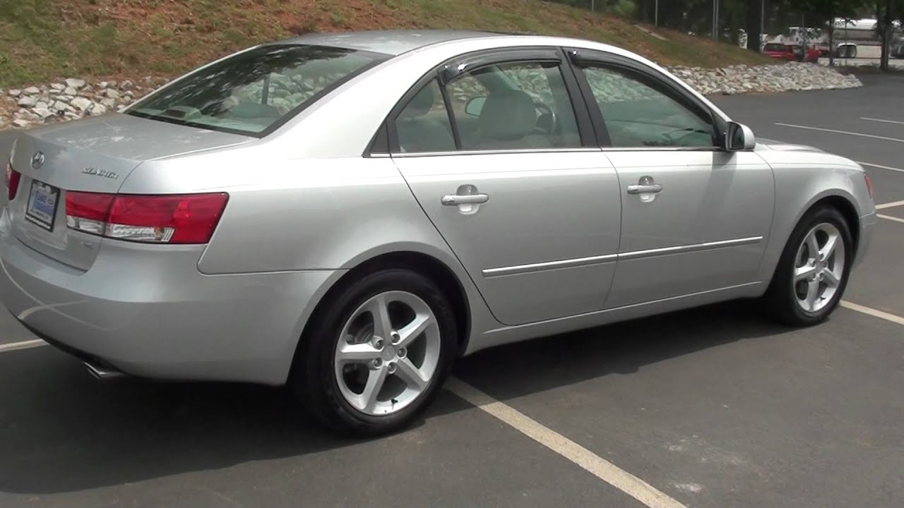 For Sale 2007 Hyundai Sonata Limited 1 Owner Only 9k