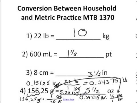 Mtb Chapter 4 Worksheet Answers