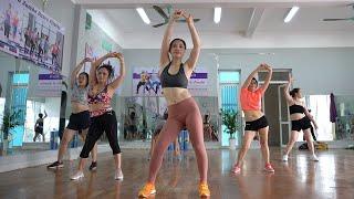 27 Min Aerobic High Intensity Workout - Burn Belly Fat // EMMA Fitness