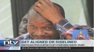Irungu Kangata issues notice to remove Senate Deputy Speaker Kithure Kindiki
